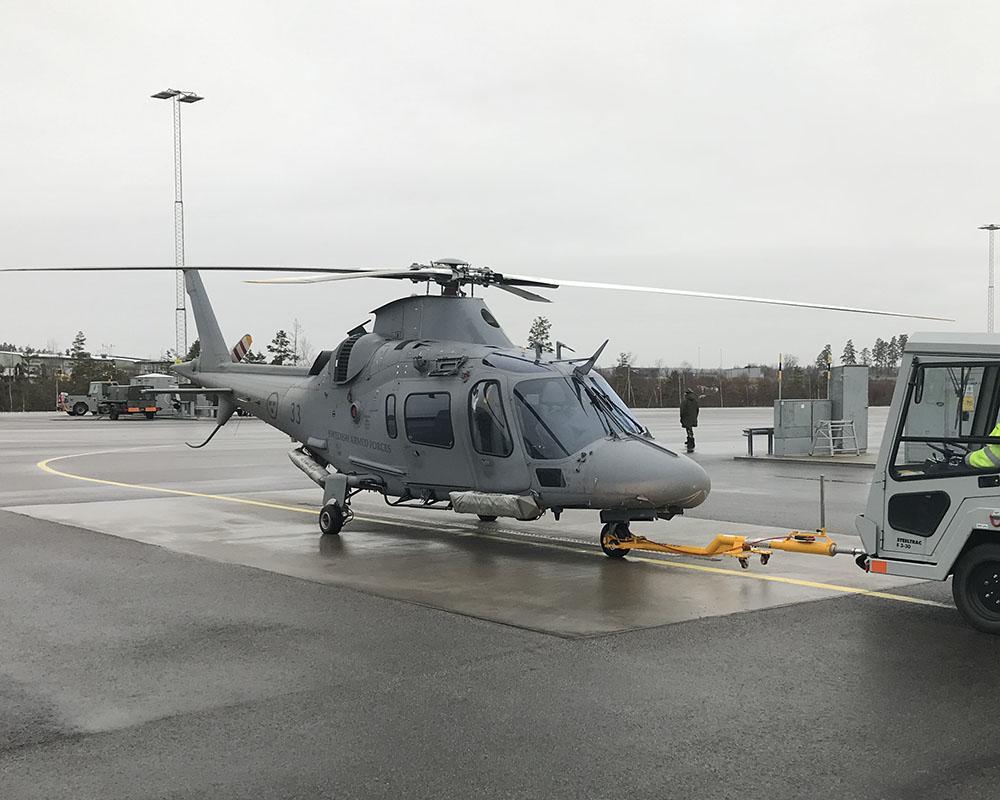 Försvarets helikopterflottilj Malmen, Linköping.
